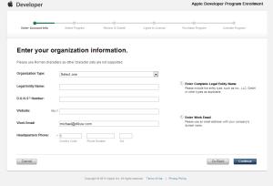 2013-01-09 iOS Developer Program Enrollment Enter Account Info 2