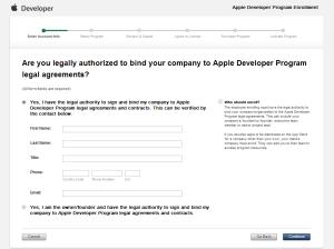 2013-01-09 iOS Developer Program Enrollment Enter Account Info