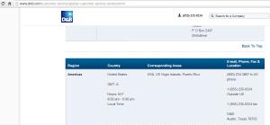 2013-01-24 1859 D&B Contact Info