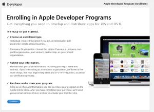 iOS Developer Program Continue