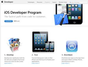 iOS Developer Program Enroll