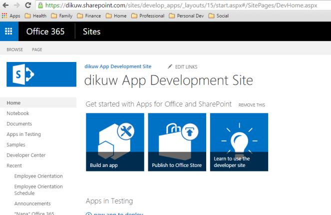 dikuw app development site.PNG