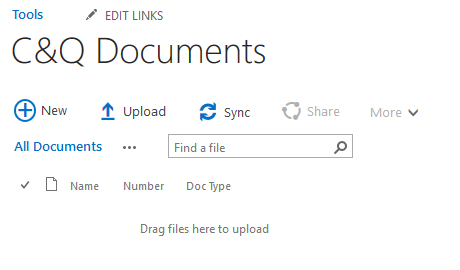 All Documents View